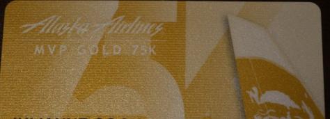 Alaska Gold MVP 75 Card Top